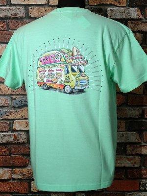 kustomstyle カスタムスタイル Tシャツ (KST1906COLMEL) taco mesa food truck カラー:メロン