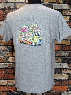 kustomstyle カスタムスタイル Tシャツ (KST1906COLGY) taco mesa food truck カラー:グレー