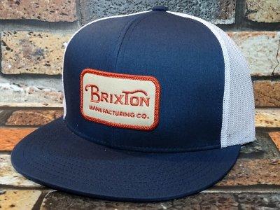 Brixton ブリクストン メッシュキャップ (GRADE MESH CAP) カラー:ネイビー×ホワイト