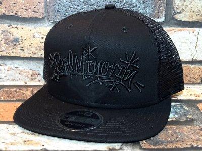 RealMinority リアルマイノリティー メッシュキャップ (Throw UP) newera original fit trucker cap  カラー:ブラック