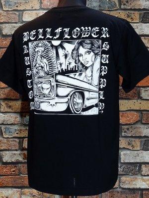 BellFlower ベルフラワー Tシャツ (BFT1901BK) XII カラー:ブラック