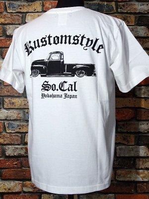 kustomstyle カスタムスタイル Tシャツ (KST1602WH) la troca カラー:ホワイト