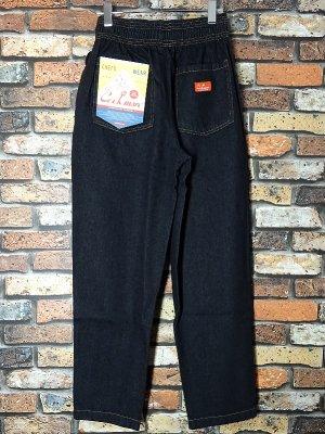 Cookman クックマン Chef Pants シェフパンツ ルーズフィット イージーパンツ (Denim) コックパンツ カラー:デニム(ブラック)