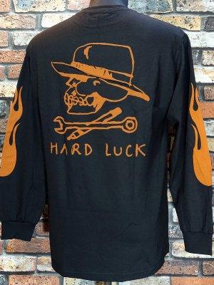 Hard Luck ハードラック ロングスリーブTシャツ (BON LOGO) カラー:ブラック