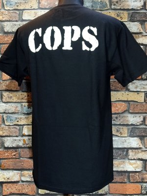 HardLuck ハードラック Tシャツ (COPS) カラー:ブラック