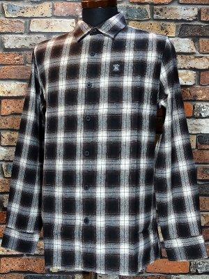 HardLuck ハードラック  長袖フランネル チェックシャツ (CHARLIE FLANNEL SHIRTS)  カラー:ブラウン系