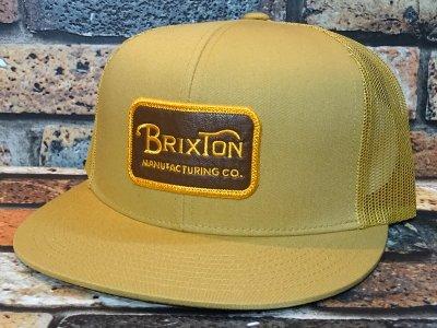 BRIXTON ブリクストン メッシュキャップ (GRADE MESH CAP) カラー:ブラウン