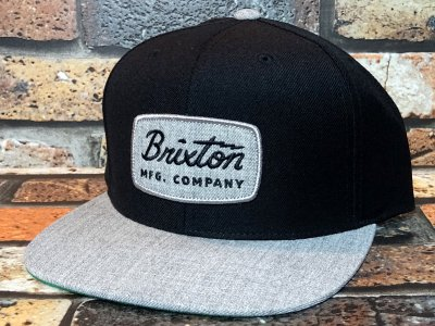Brixton ブリクストン スナップバック キャップ jolt snap back cap  カラー:ブラック