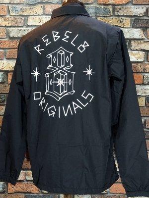 REBEL8 レベルエイト ナイロン コーチジャケット LORDS II COACHES JACKET カラー:ブラック