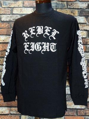REBEL8 レベルエイト ロングスリーブTシャツ paraiso long sleeve カラー:ブラック
