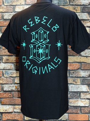 REBEL8 レベルエイト Tシャツ LORDS II カラー:ブラック
