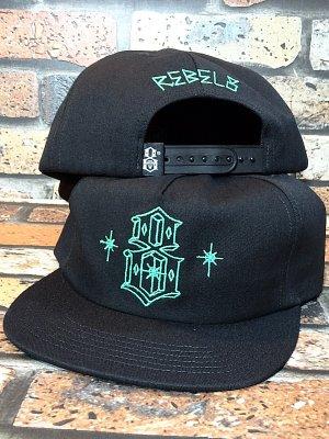 REBEL8 レベルエイト スナップバックキャップ LORDS II LP SNAPBACK カラー:ブラック