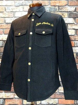 LOSER MACHINE ルーザーマシーン フリースシャツ ジャケット (ROLANDO) カラー:ブラック