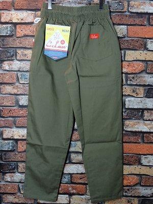 Cookman クックマン Chef Pants シェフパンツ ルーズフィット イージーパンツ (Ripstop) コックパンツ カラー:カーキ