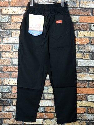 Cookman クックマン Chef Pants シェフパンツ ルーズフィット イージーパンツ (Ripstop) コックパンツ カラー:ブラック