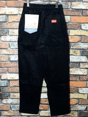 Cookman クックマン Chef Pants シェフパンツ ルーズフィット イージーパンツ (Corduroy) コックパンツ カラー:ブラック