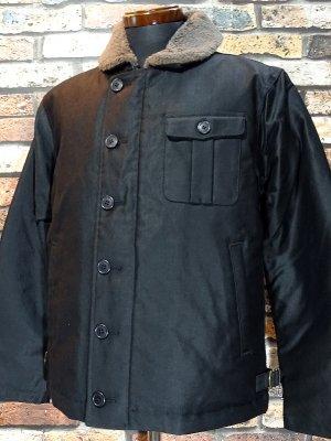 ZANTER JAPAN ザンタージャパン N-1タイプ ダウンジャケット 日本製 Zanter deck down jacket  カラー:ブラック