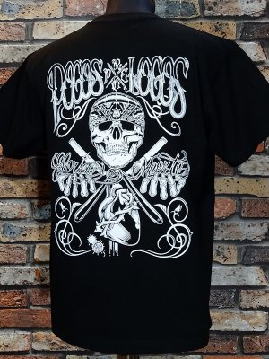 RealMinority リアルマイノリティー  Tシャツ (Gloria O Muerte) カラー:ブラック