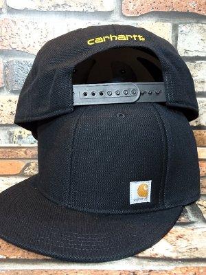 CARHARTT カーハート ASHLAND CAP BLACK 101604 アシュランド スナップバックキャップ カラー:ブラック