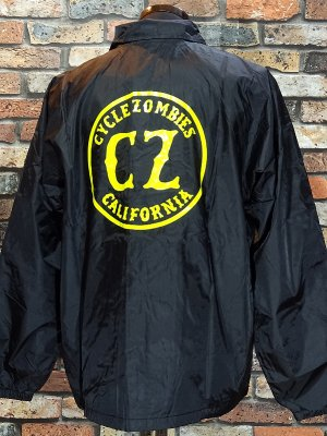 CYCLE ZOMBIES サイクルゾンビーズ  コーチジャケット ( CALIFORNIA Coaches Jacket) カラー:ブラック
