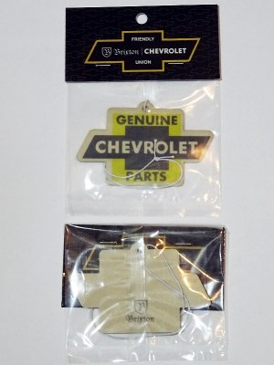 Brixton × Chevrolet エアーフレッシュナー original air freshner (IMPALA YELLOW)