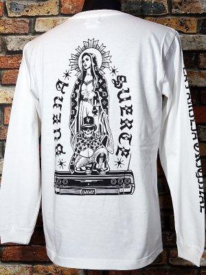 LA FAMILIA ORIGINAL ラ ファミリアオリジナル ロングスリーブTシャツ (OWN WAY) カラー:ホワイト