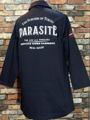 parasite パラサイト ダスターコート (PARASITE) カラー:ネイビー