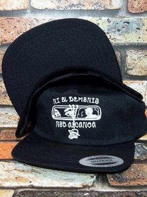 HardLuck ハードラック スナップバックキャップ  (DEMONIO SNAPBACK CAP) カラー:ブラック