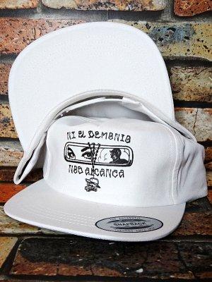 HardLuck ハードラック スナップバックキャップ  (DEMONIO SNAPBACK CAP) カラー:ホワイト