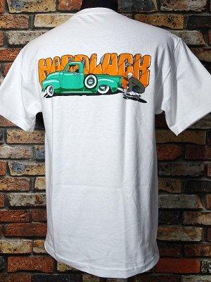 HardLuck ハードラック Tシャツ (MOLINAR POCKET) カラー:ホワイト