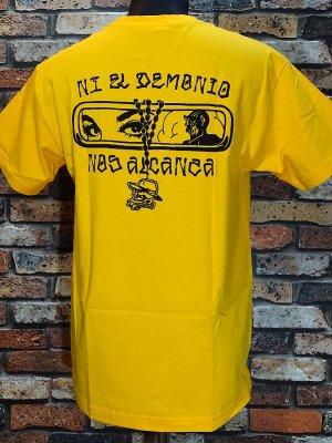 HardLuck ハードラック Tシャツ (DEMONIO ATHLETIC) カラー:ゴールド