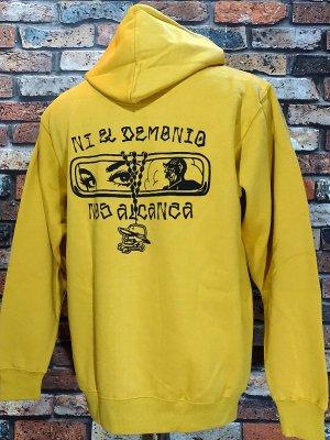HardLuck ハードラック  プルオーバースウェットパーカー (demonio pullover parka athletic) カラー:ゴールド