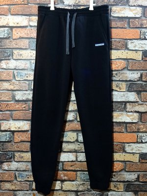 kustomstyle カスタムスタイル 裏起毛スウェットパンツ (KSSWPT2003BK) classic wheels jogger sweat pants  カラー:ブラック