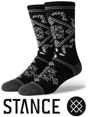 <img class='new_mark_img1' src='https://img.shop-pro.jp/img/new/icons15.gif' style='border:none;display:inline;margin:0px;padding:0px;width:auto;' />STANCE SOCKS スタンスソックス  (BANDERO) カラー:ブラック
