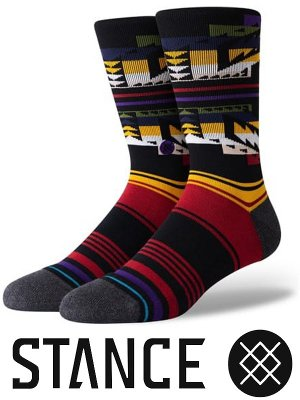 <img class='new_mark_img1' src='https://img.shop-pro.jp/img/new/icons15.gif' style='border:none;display:inline;margin:0px;padding:0px;width:auto;' />STANCE SOCKS スタンスソックス  (COLLISION) カラー:マルチカラー