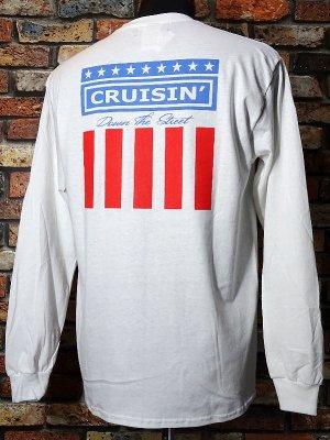kustomstyle カスタムスタイル ロングスリーブTシャツ(KSTL2003WH) classic wheels long sleve tee カラー:ホワイト