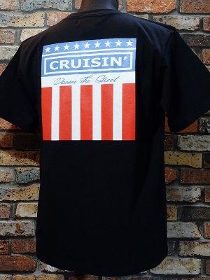 kustomstyle カスタムスタイル Tシャツ (KST2003BK) classic wheels カラー:ブラック
