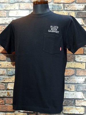 BLUCO ブルコ  ポケットTee (OL-809-020) mini logo カラー:ブラック
