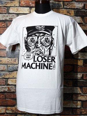 LoserMachine ルーザーマシーン Tシャツ (PUNK) カラー:ホワイト