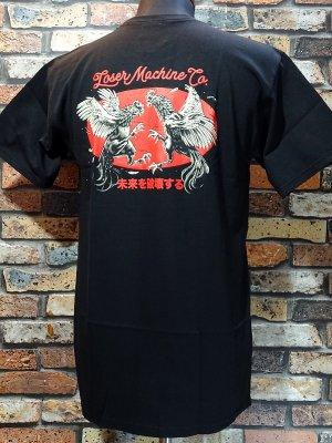 LoserMachine ルーザーマシーン Tシャツ (CHICKEN) カラー:ブラック