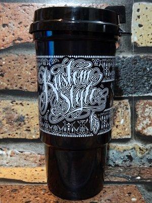 Kustomstyle カスタムスタイル タンブラー (KSTUM-001) bandana norm logo tumbler カラー:ブラック