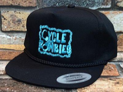CYCLE ZOMBIES サイクルゾンビーズ  スナップバックキャップ (CUFFED SNAPBACK CAP) カラー:ブラック