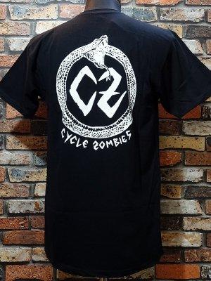 CYCLE ZOMBIES サイクルゾンビーズ  Tシャツ (Venom Premium) カラー:ブラック