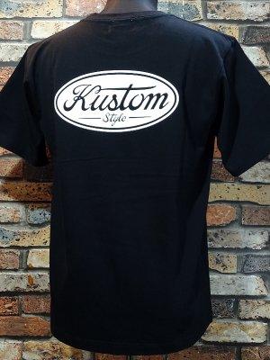 kustomstyle カスタムスタイル Tシャツ (KST2008BK) motor company カラー:ブラック