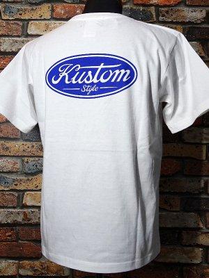 kustomstyle カスタムスタイル Tシャツ (KST2008WH) motor company カラー:ホワイト