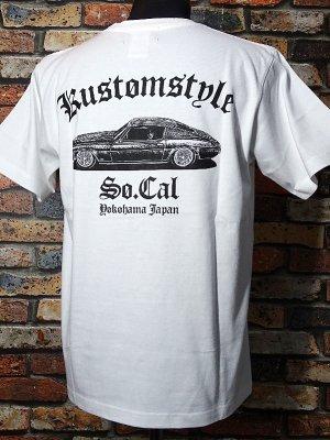 kustomstyle カスタムスタイル Tシャツ (KST2010WH) evil course カラー:ホワイト