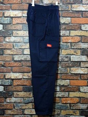 Cookman クックマン Chef Cargo Pants シェフ カーゴパンツ ルーズフィット イージーパンツ (Ripstop) コックパンツ カラー:ネイビー