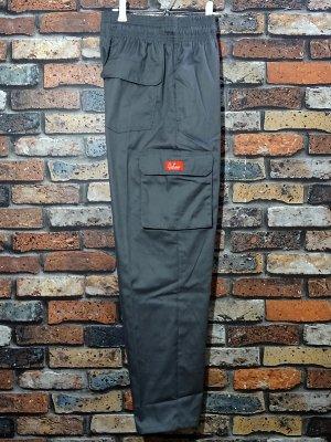 Cookman クックマン Chef Cargo Pants シェフ カーゴパンツ ルーズフィット イージーパンツ (Gray) コックパンツ カラー:グレー