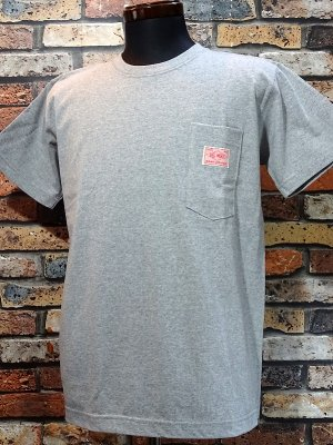 BIG MIKE ビックマイク サングラス ポケット付き Tシャツ (SUNGLASSES POCKET SHORT TEE) カラー:グレー