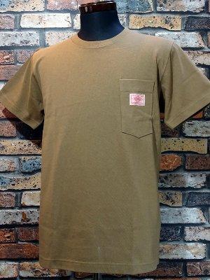 BIG MIKE ビックマイク サングラス ポケット付き Tシャツ (SUNGLASSES POCKET SHORT TEE) カラー:キャメル